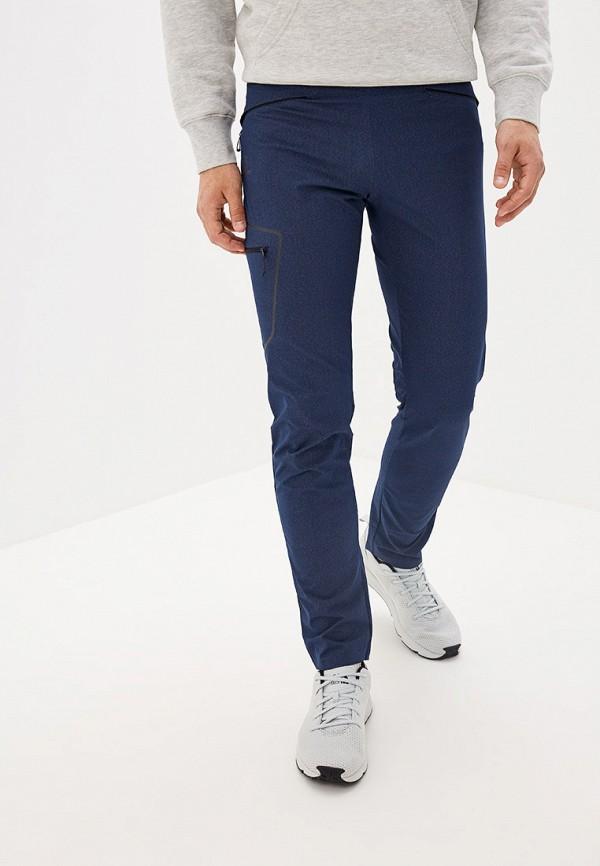 мужские спортивные спортивные брюки salomon, синие