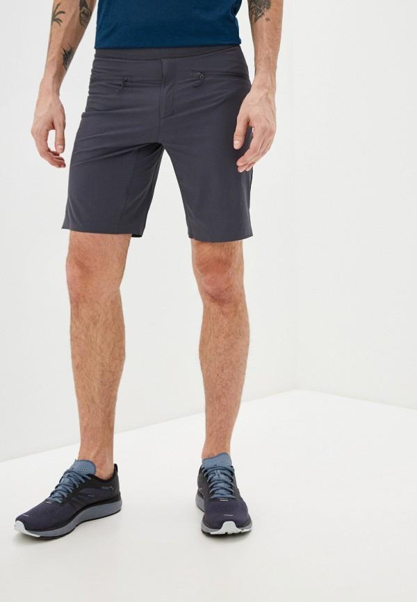 мужские спортивные шорты salomon, серые