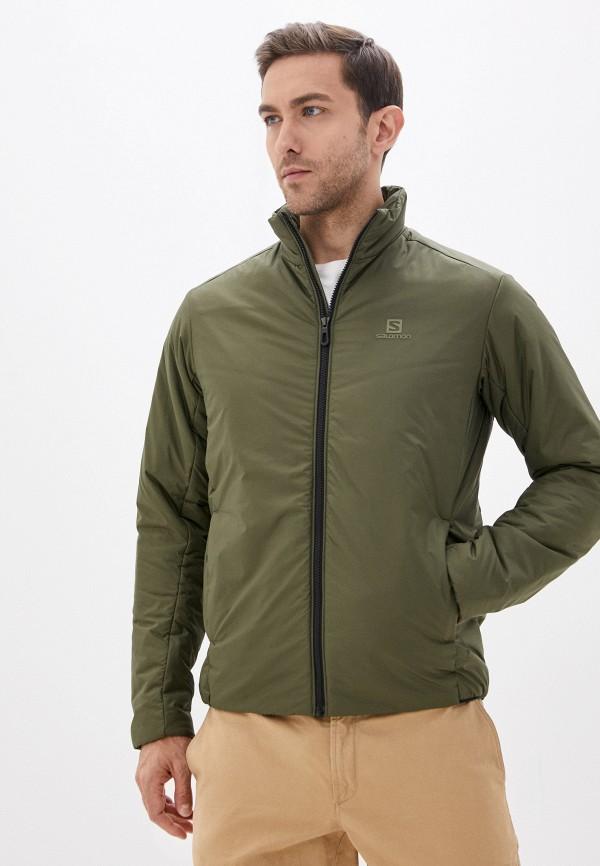 мужская куртка salomon, хаки