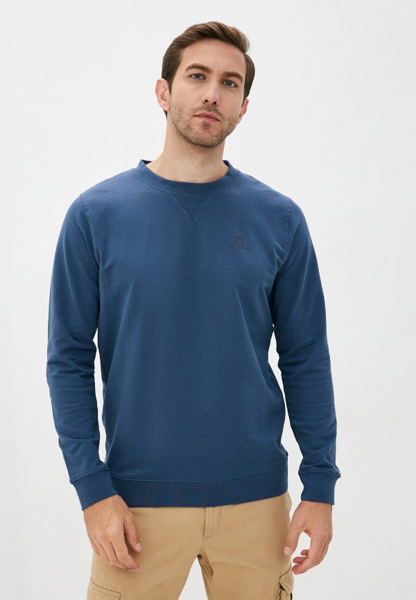 мужской свитшот salomon, синий