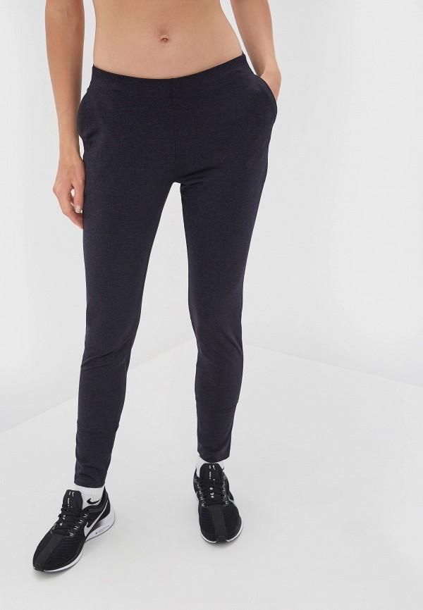 женские спортивные спортивные брюки salomon, серые