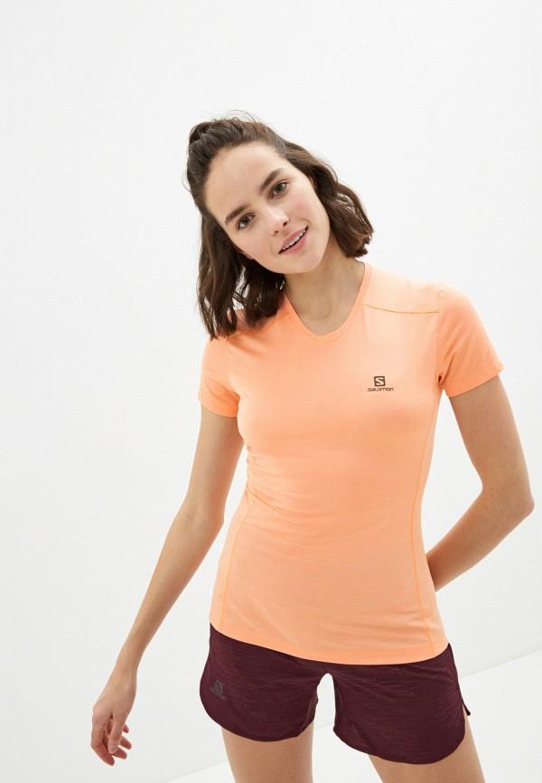женская спортивные футболка salomon