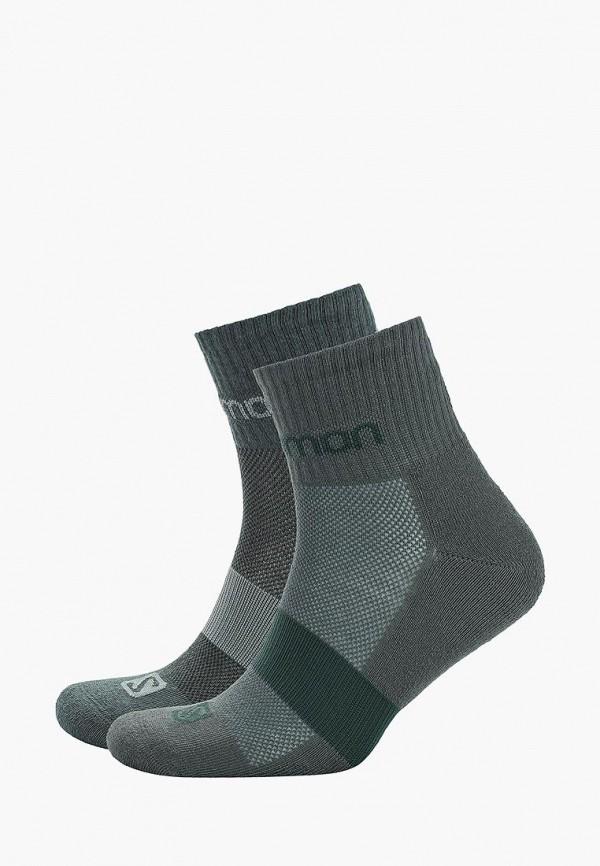 мужские носки salomon, зеленые