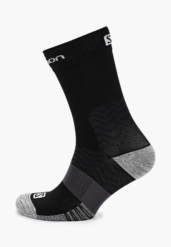 женские носки salomon, черные