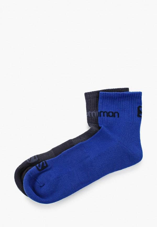 женские носки salomon, синие