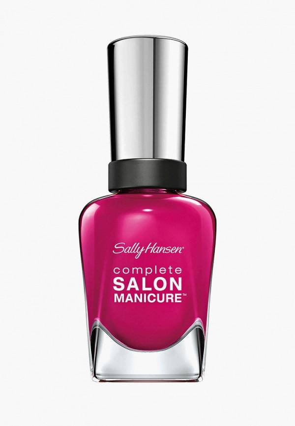 лак для ногтей sally hansen, розовый
