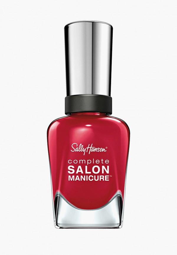 лак для ногтей sally hansen, красный