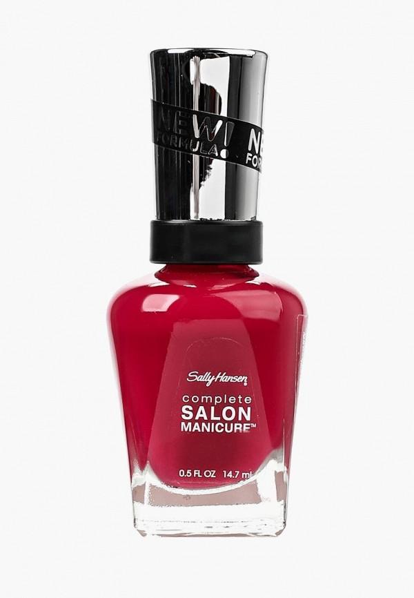 лак для ногтей sally hansen, бордовый