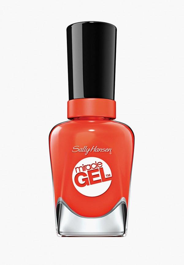 лак для ногтей sally hansen, оранжевый