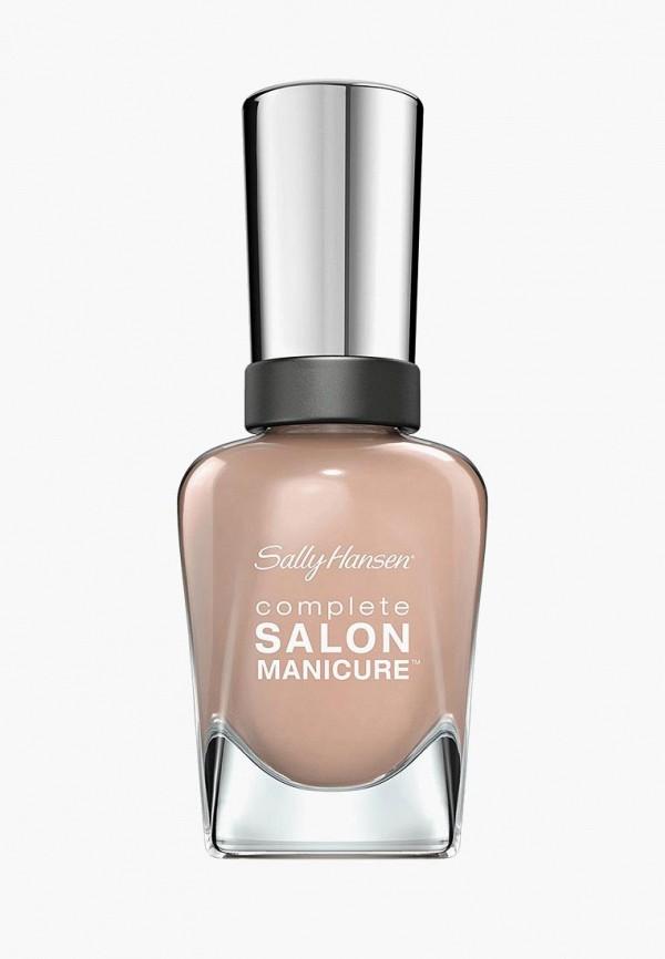 Купить Лак для ногтей Sally Hansen, Salon Manicure Keratin тон cafe au lait 220 14, 7 мл, SA035LWOYF98, розовый, Осень-зима 2018/2019