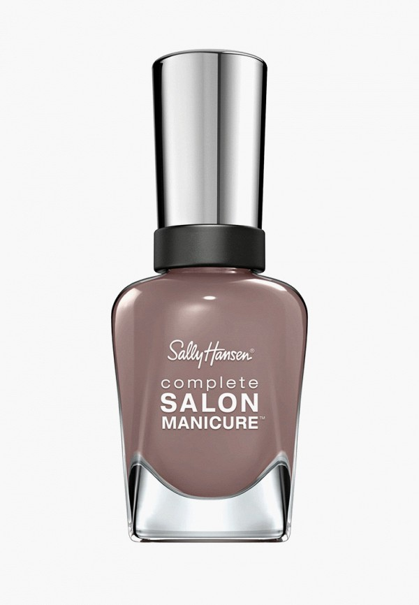 лак для ногтей sally hansen, серый
