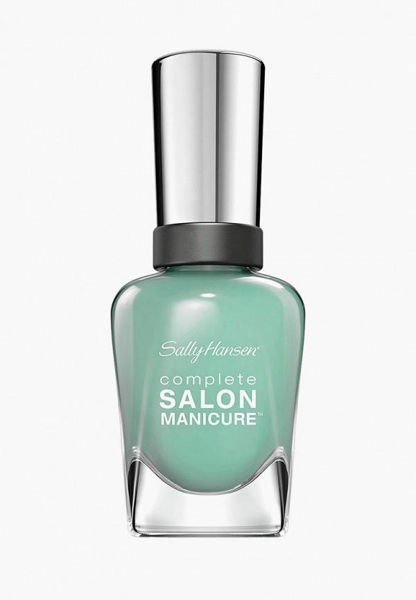Купить Лак для ногтей Sally Hansen, Salon Manicure Keratin тон jaded 672 14, 7 мл, SA035LWOYG05, бирюзовый, Весна-лето 2018