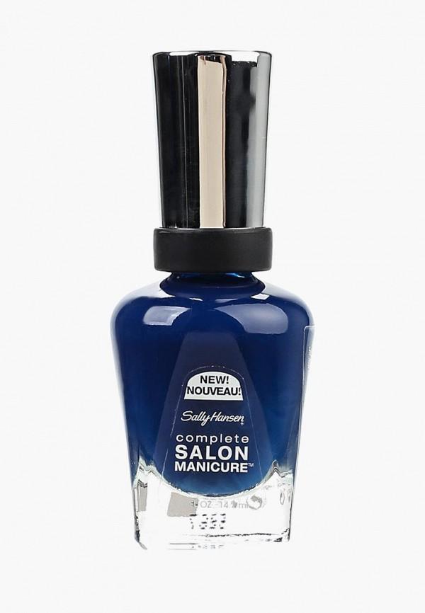 Купить Лак для ногтей Sally Hansen, Salon Manicure Keratin, тон a bleu attitude, sa035lwrfd42, синий, Осень-зима 2018/2019