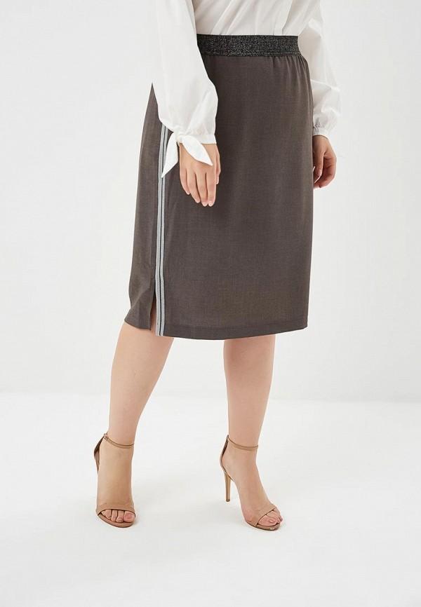женская прямые юбка samoon by gerry weber, серая