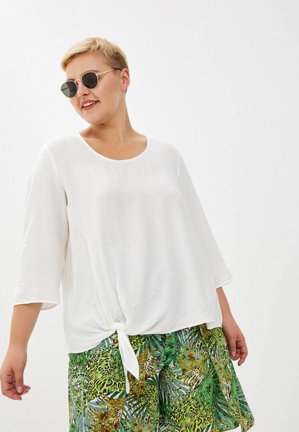 женская блузка samoon by gerry weber, белая