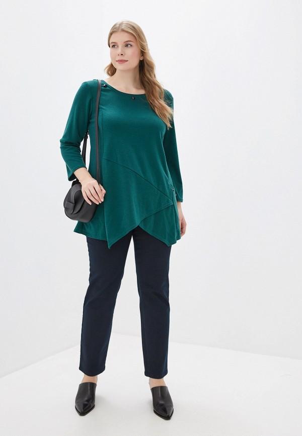 Фото 2 - женские джинсы Samoon by Gerry Weber синего цвета