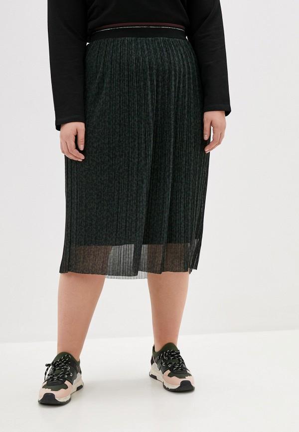 женская юбка samoon by gerry weber, зеленая