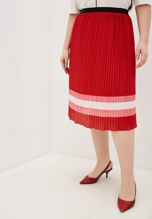 женская юбка samoon by gerry weber, красная
