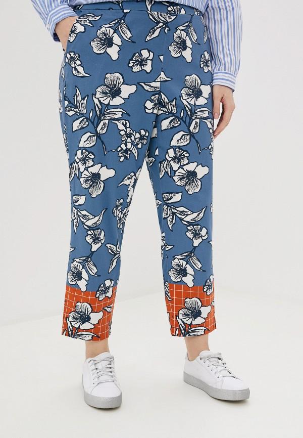женские повседневные брюки samoon by gerry weber, синие