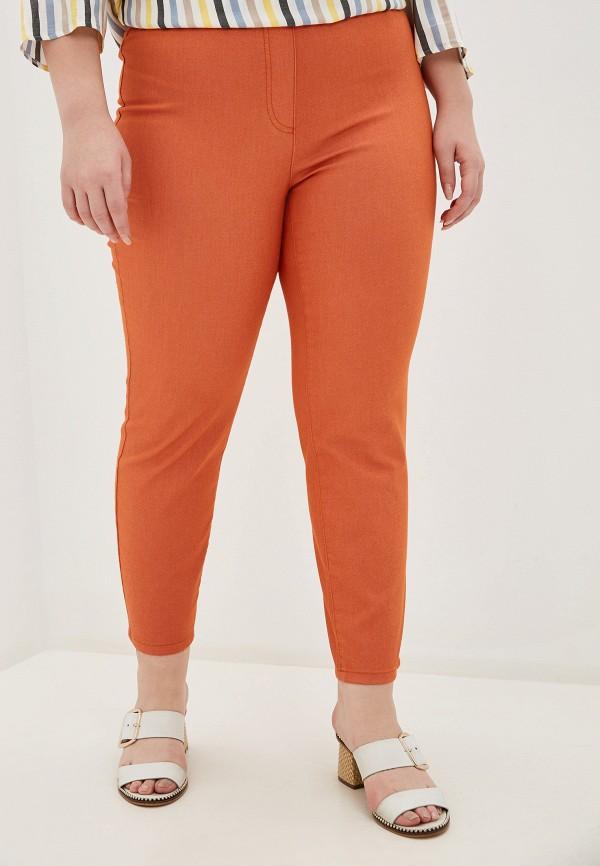 женские зауженные брюки samoon by gerry weber, оранжевые
