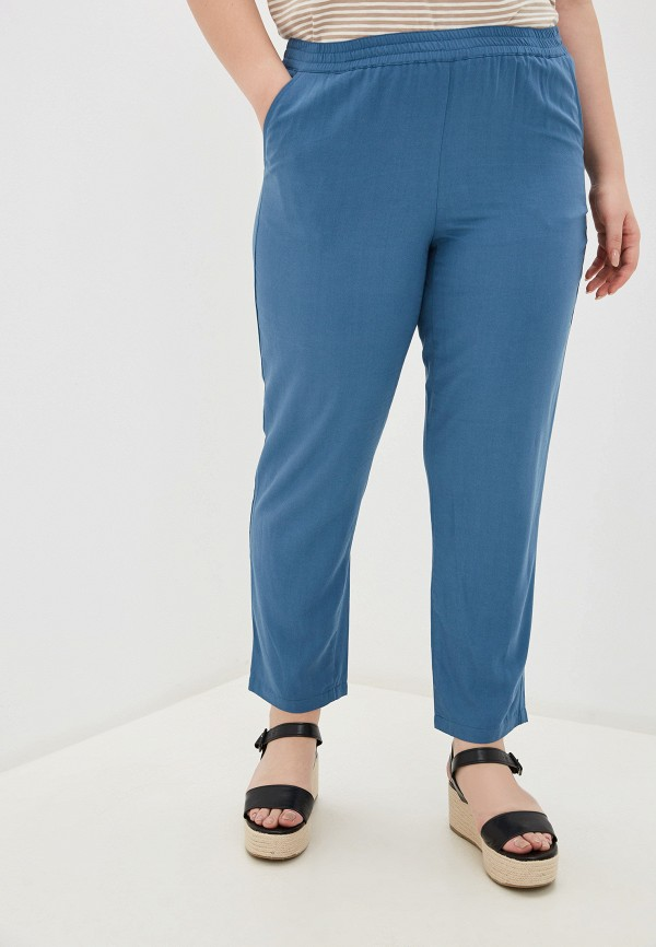 женские брюки samoon by gerry weber, синие
