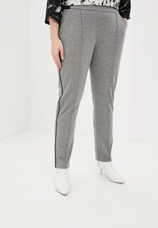 женские зауженные брюки samoon by gerry weber, серые