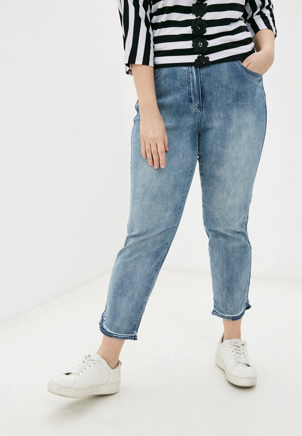 женские джинсы samoon by gerry weber, голубые