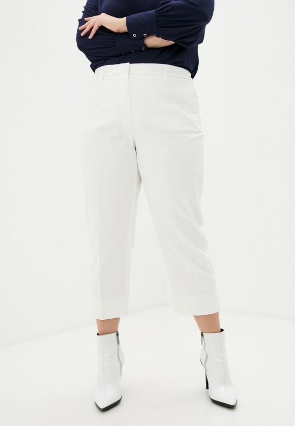 женские прямые брюки samoon by gerry weber, белые