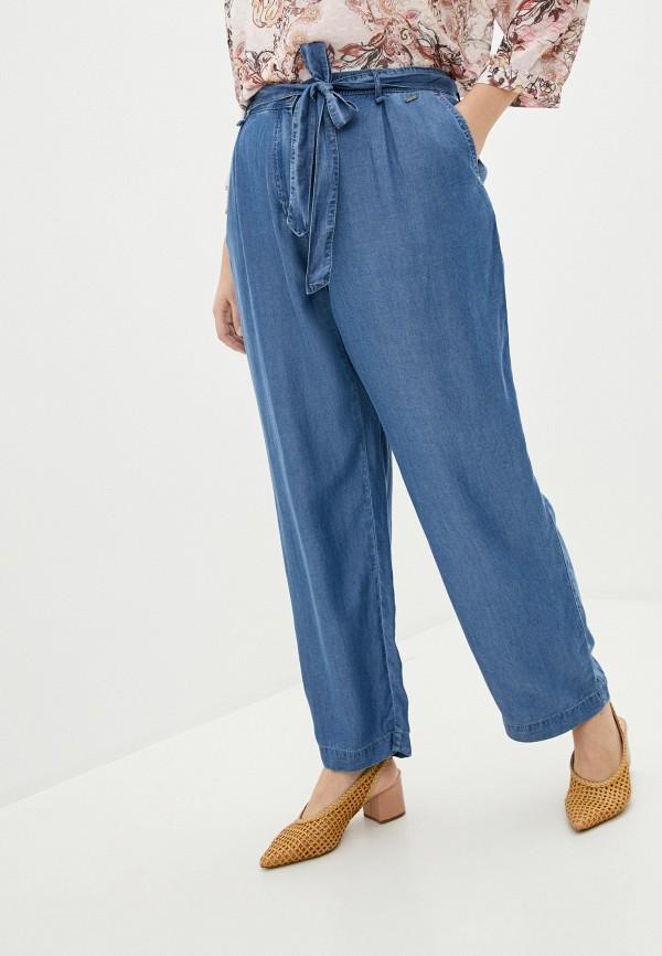 женские прямые брюки samoon by gerry weber, синие