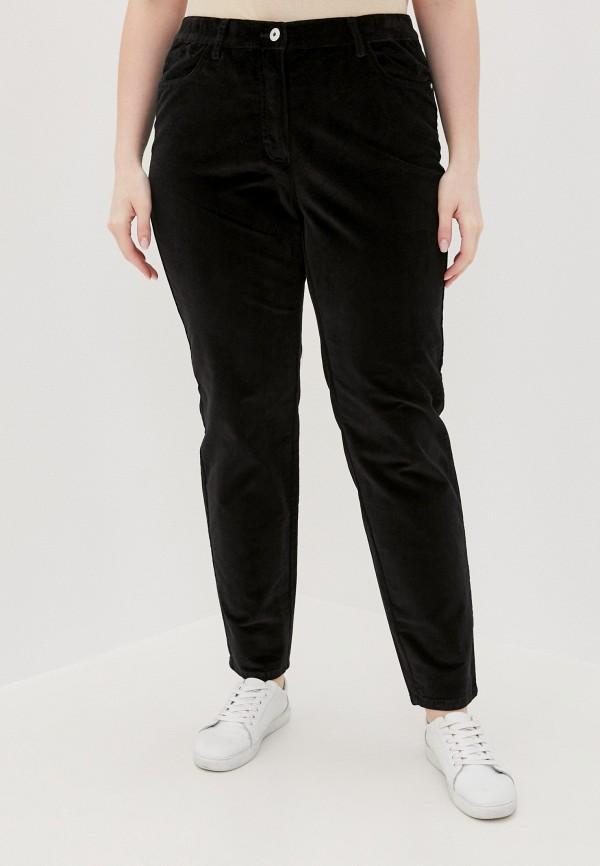 женские зауженные брюки samoon by gerry weber, черные