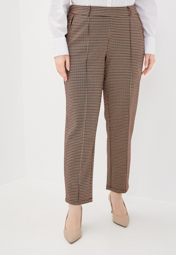 женские прямые брюки samoon by gerry weber, бежевые