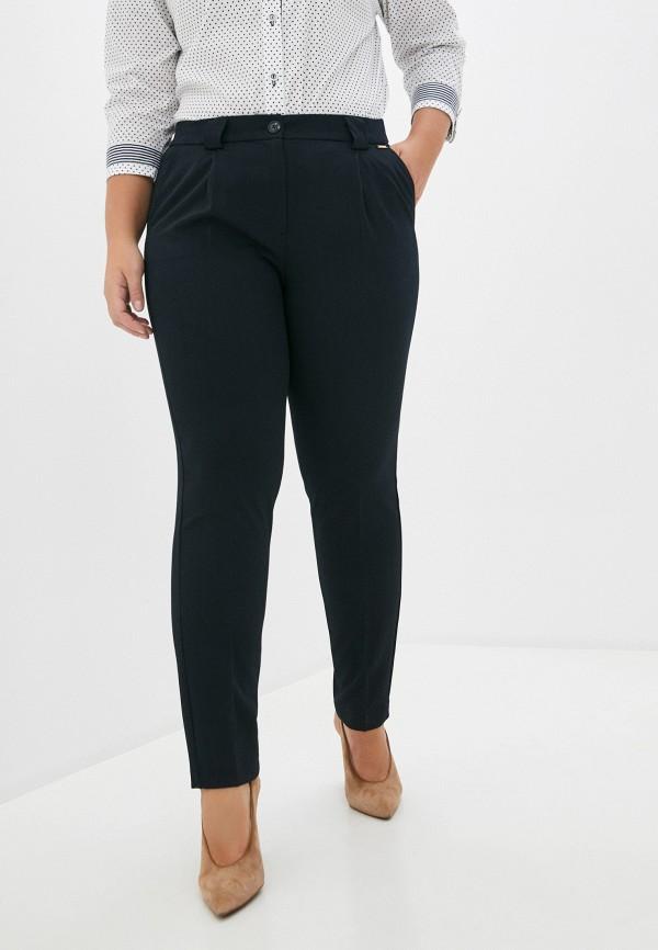 женские классические брюки samoon by gerry weber, синие