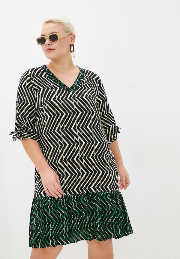 женское повседневные платье samoon by gerry weber, черное