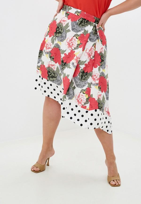 женская юбка samoon by gerry weber, разноцветная