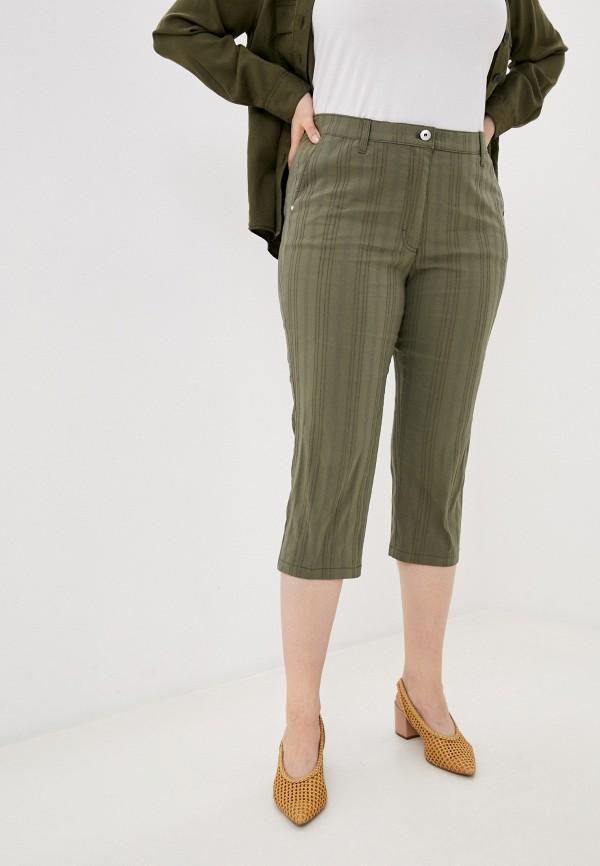 женские прямые брюки samoon by gerry weber, хаки