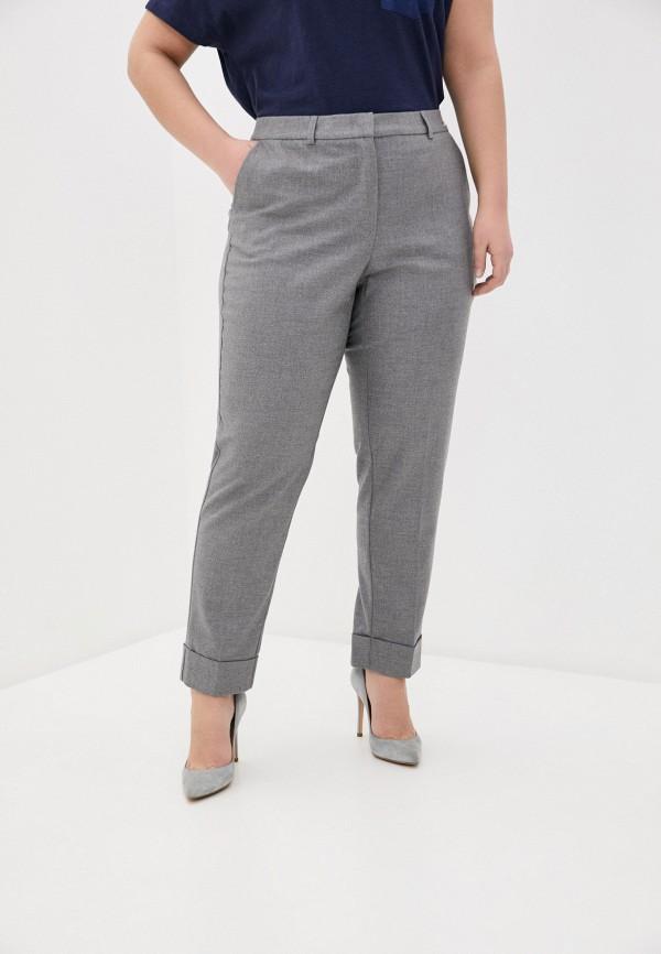 женские прямые брюки samoon by gerry weber, серые