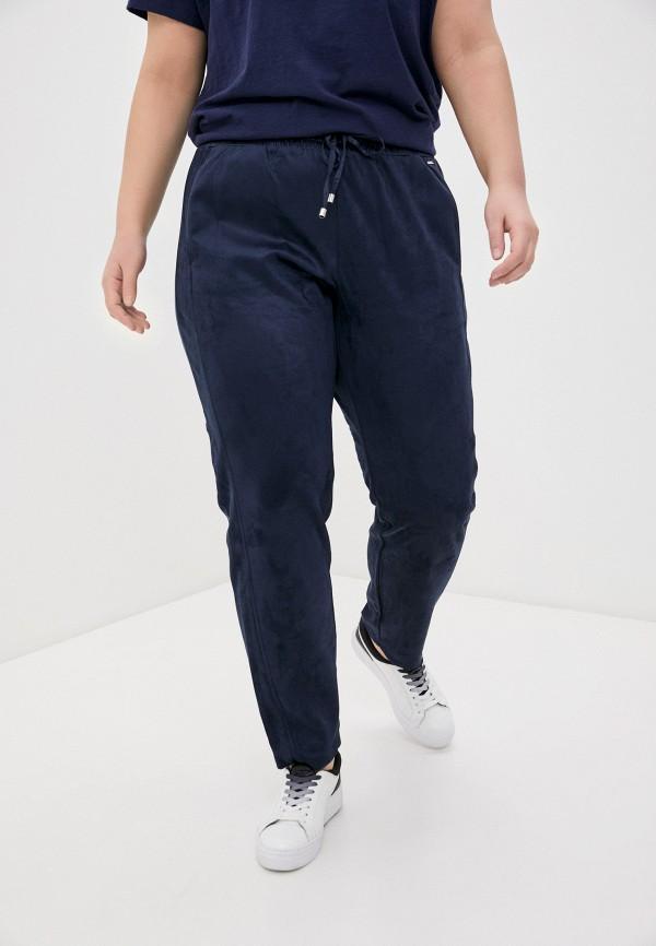 женские зауженные брюки samoon by gerry weber, синие