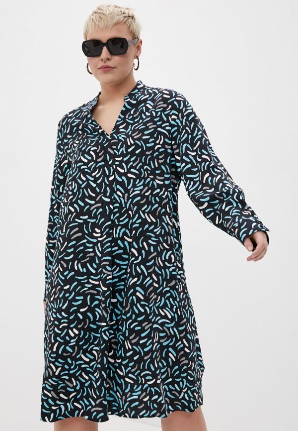 женское повседневные платье samoon by gerry weber, разноцветное