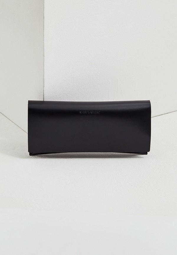 Фото 5 - Оправа Saint Laurent черного цвета