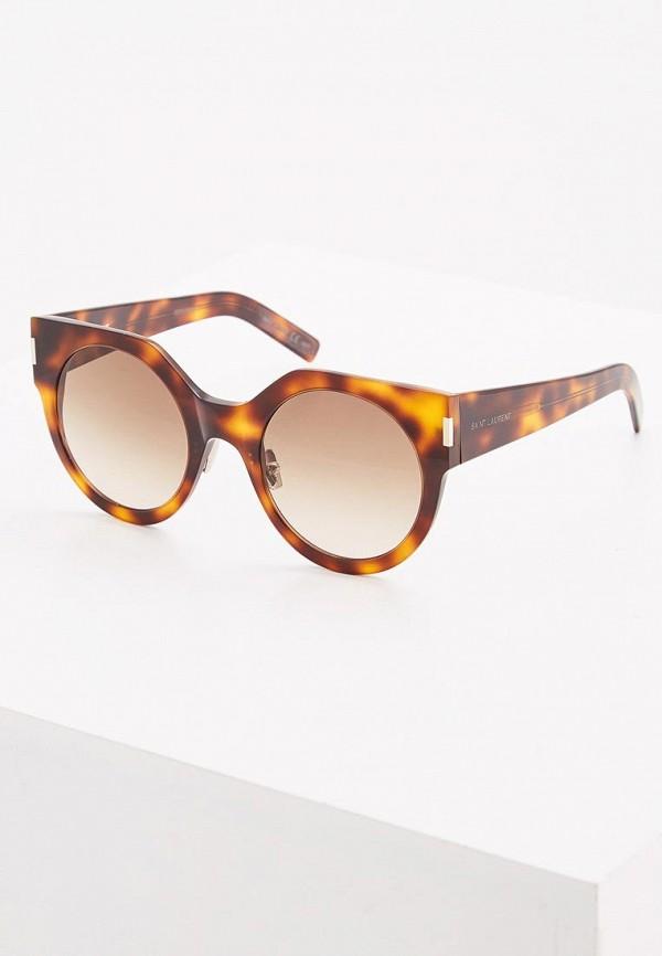 Очки солнцезащитные Saint Laurent Saint Laurent SA042DWZHN35 очки солнцезащитные saint laurent saint laurent sa042dwzhn36