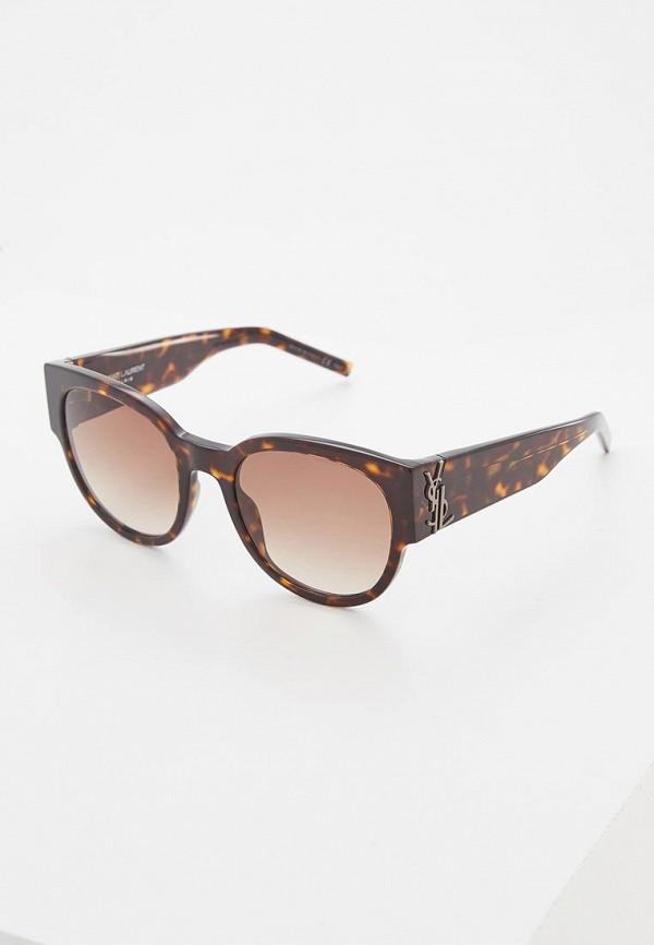 Очки солнцезащитные Saint Laurent Saint Laurent SA042DWZHN40 очки солнцезащитные saint laurent saint laurent sa042dwzhn36