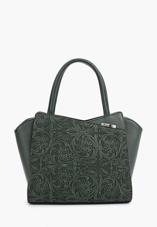 женская сумка savio, зеленая