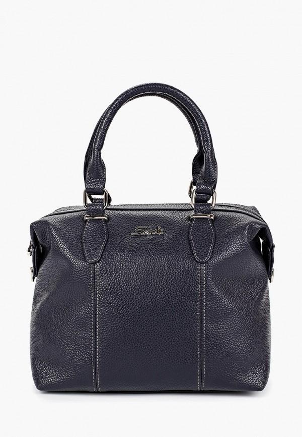 женская сумка savio, синяя