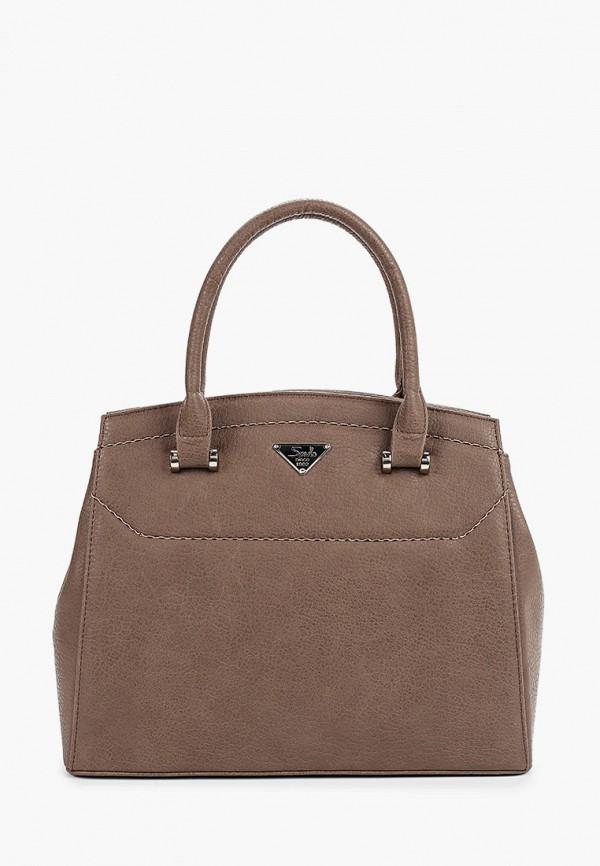 женская сумка savio, бежевая