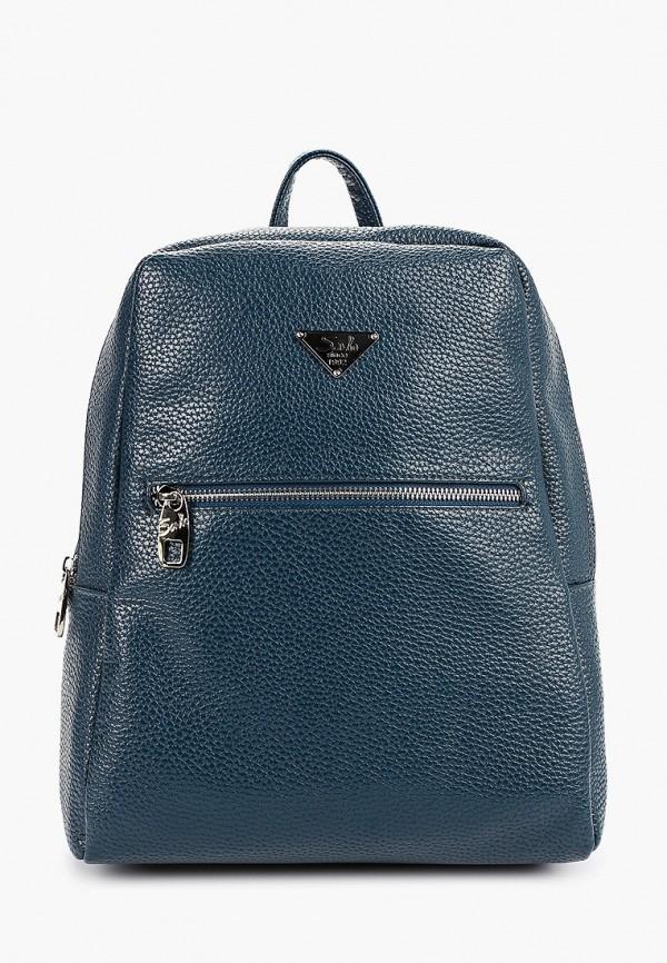 женский рюкзак savio, синий