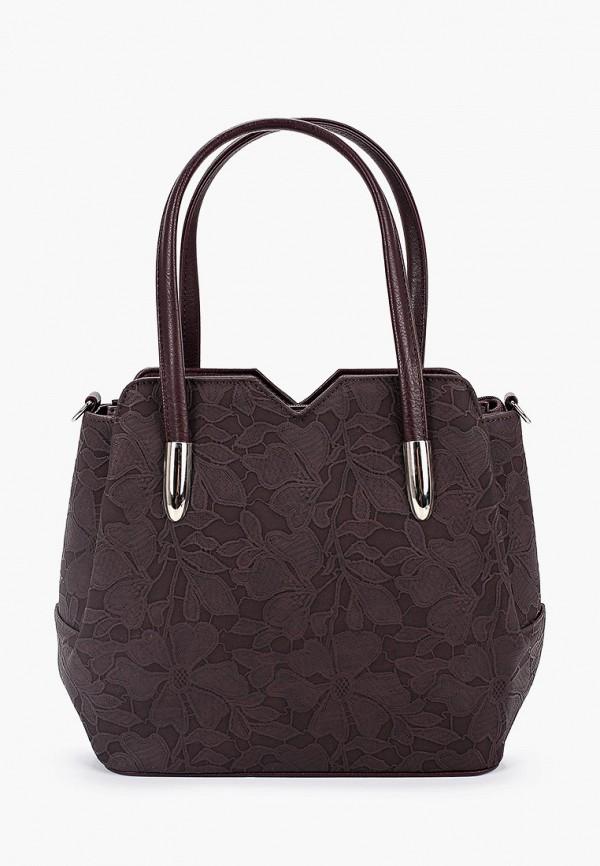 женская сумка savio, бордовая