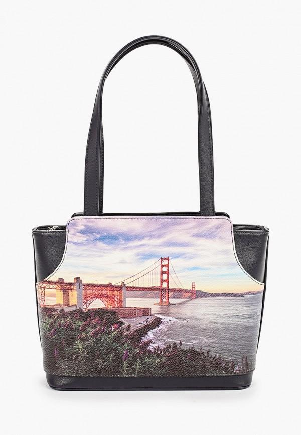женская сумка savio, разноцветная