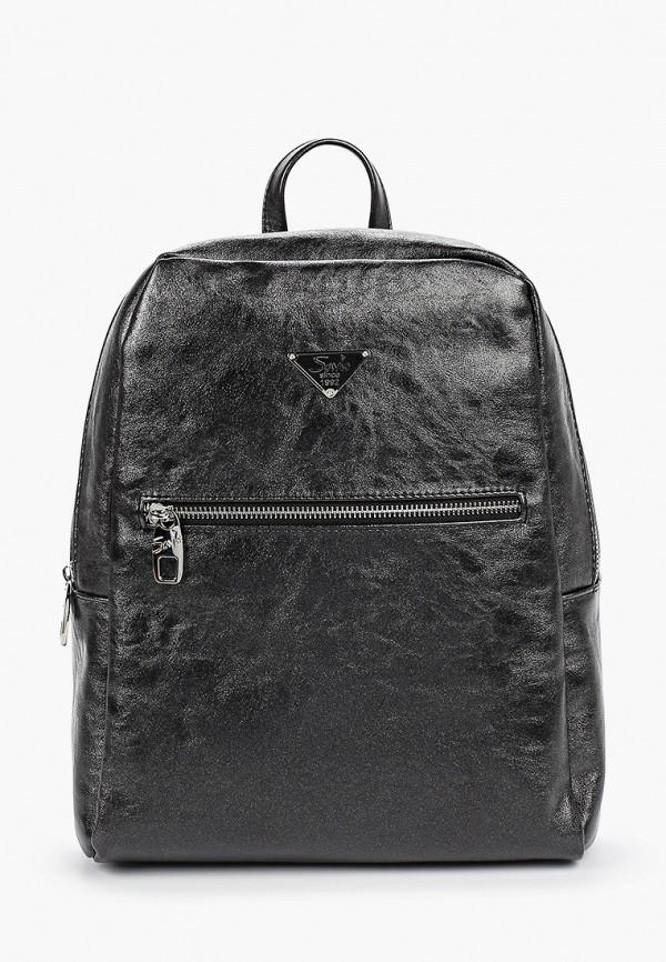 женский рюкзак savio, черный
