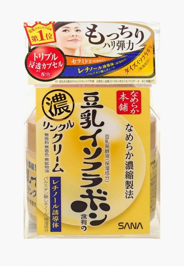 Купить Крем для лица Sana, Увлажняющий и подтягивающий с ретинолом и изофлавонами сои, 50 г, SA045LWWGA35, Осень-зима 2018/2019