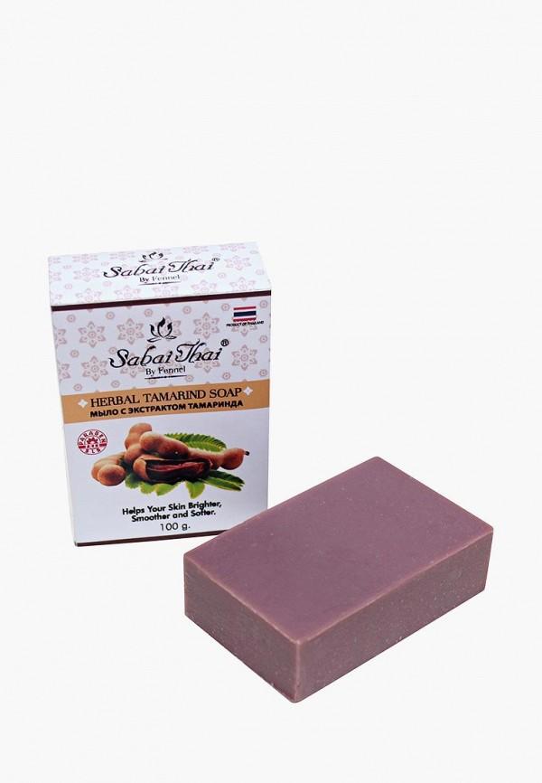 Купить Мыло Sabai Thai Authentic SPA, с экстрактом тамаринда 100 гр, sa050lwanlh7, фиолетовый, Осень-зима 2018/2019